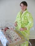 Первая новорожденная вязьмичка 2010 года WWW.MGORV.RU