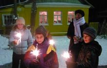 Новый год на улице Декабристов WWW.MGORV.RU