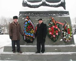 Возложение венков, День защитника Отечества, Вязьма