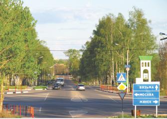 Строительство нового микрорайона запланировано справа от улицы Комсомольская
