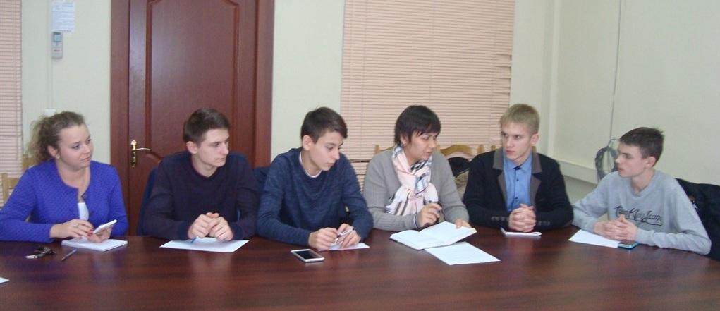 Заседание молодежной избирательной комиссии
