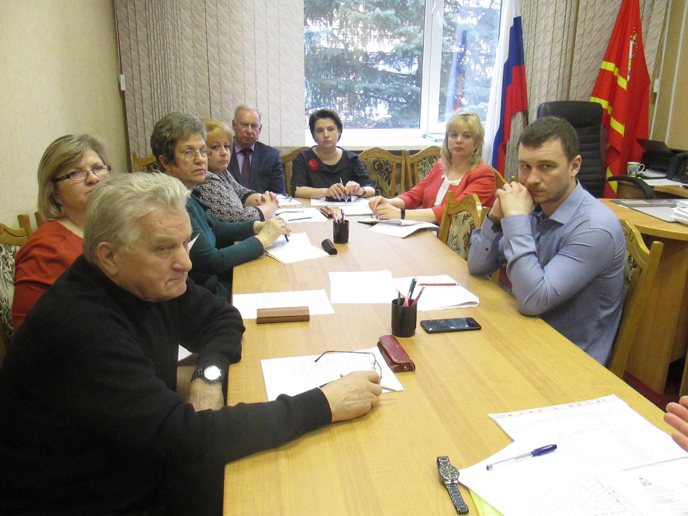 20 февраля состоялось заседание постоянной комиссии по социальной политике Вяземского районного Совета депутатов