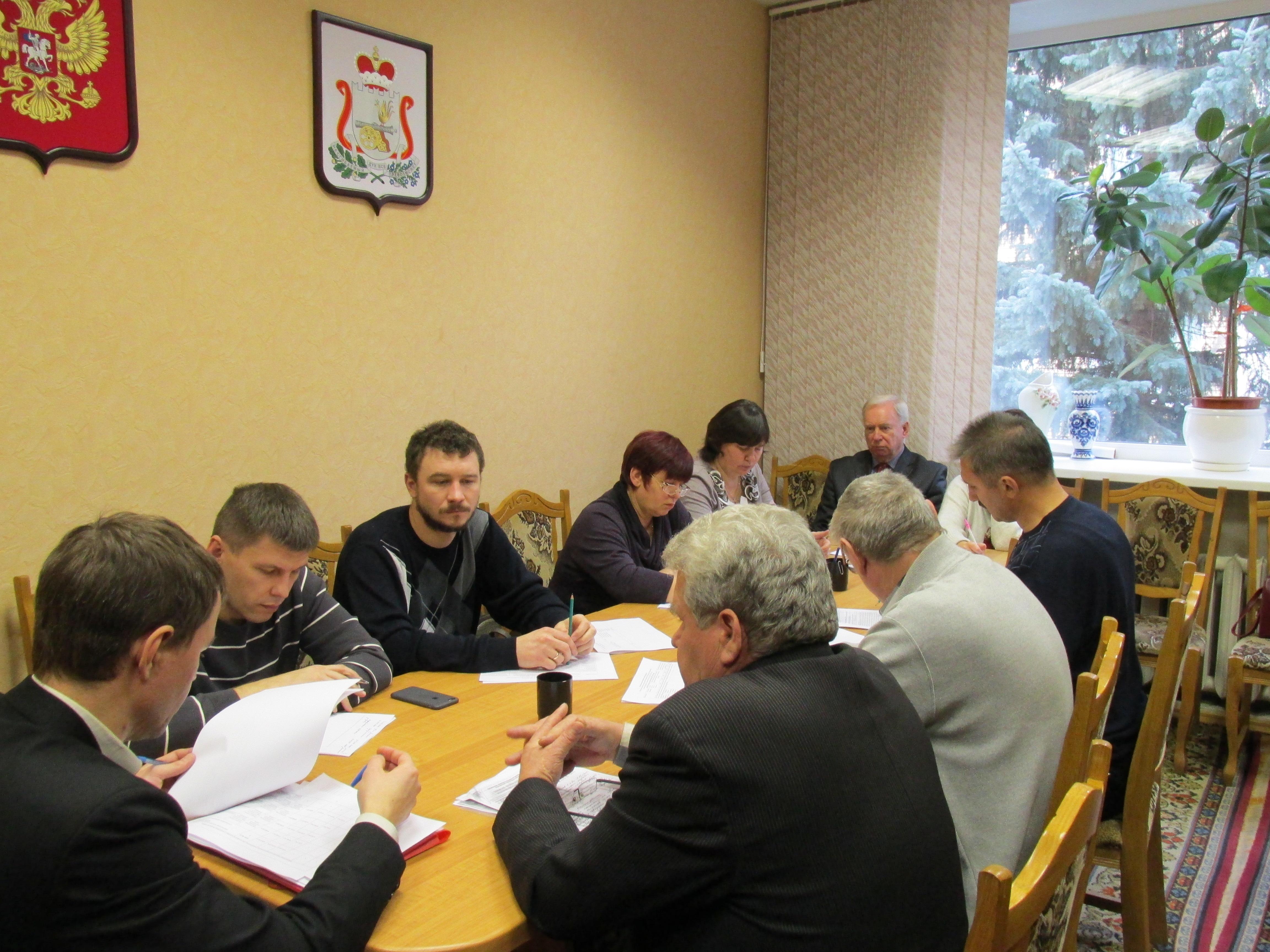 Заседание постоянной комиссии по строительству, ЖКХ и транспорту