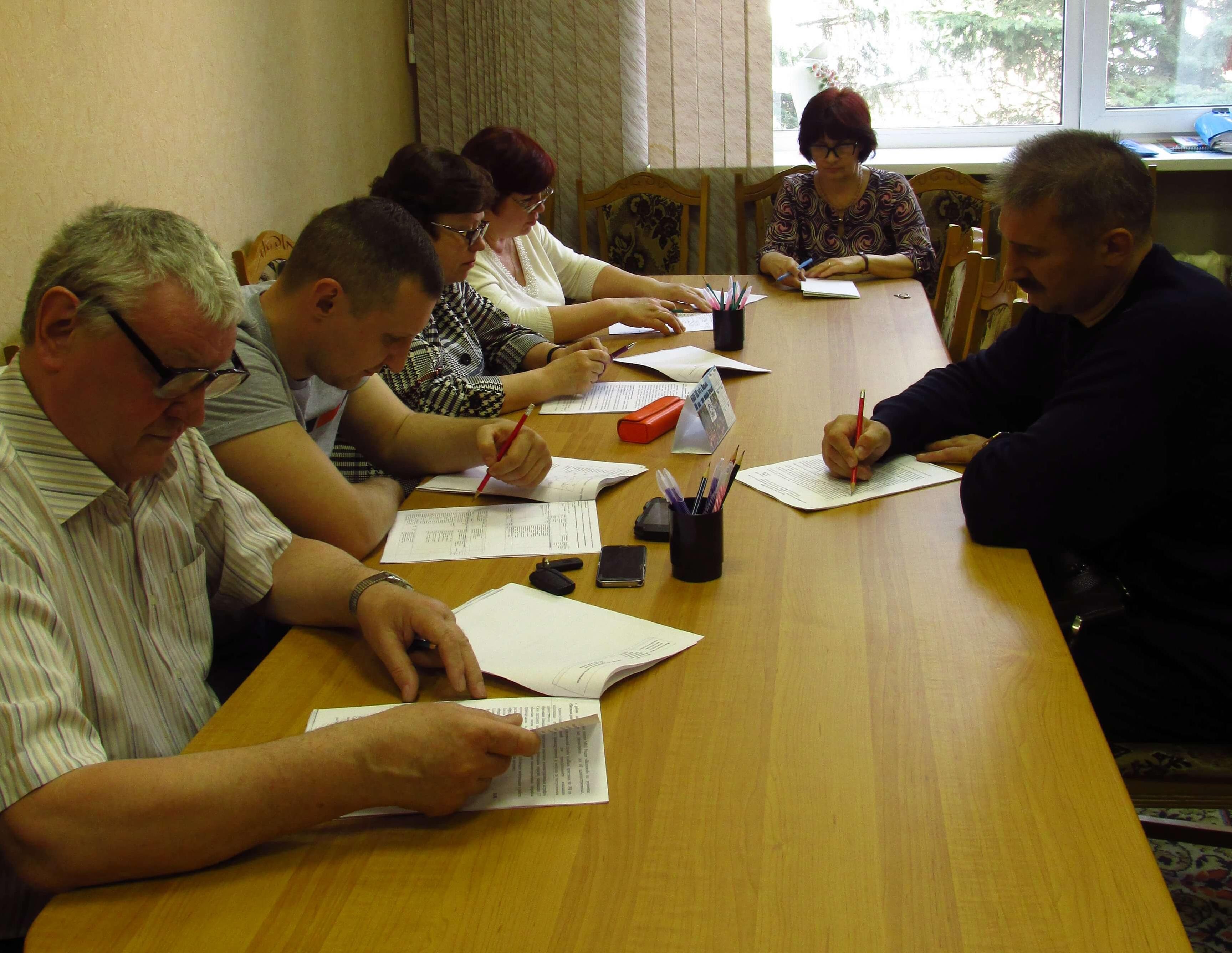Заседание постоянной комиссии по промышленности, предпринимательству, сельскому хозяйству и природопользованию Вяземского районного Совета депутатов