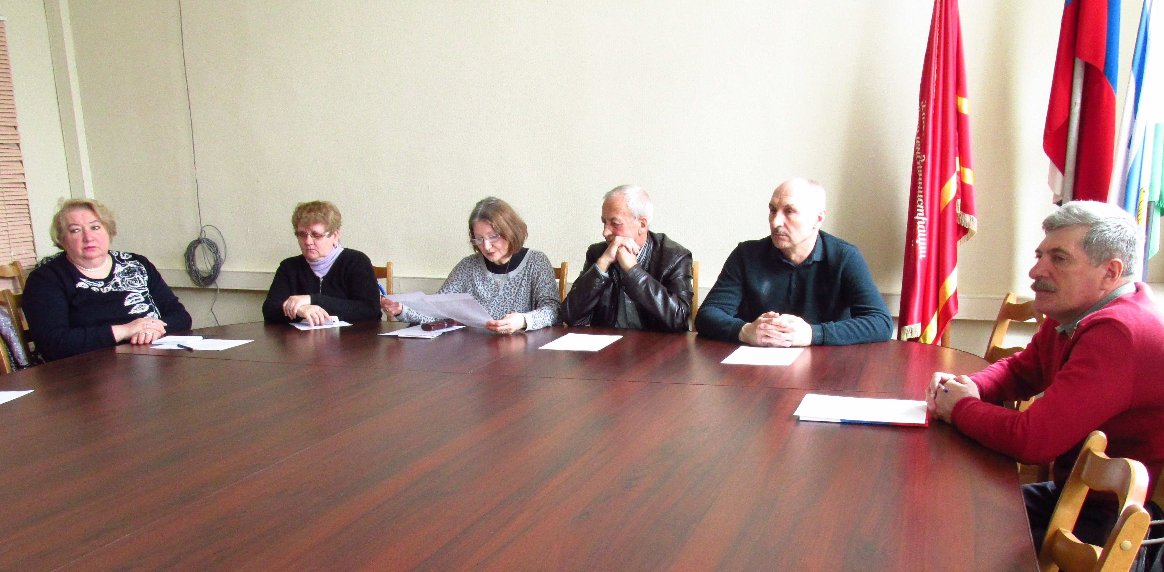 Общественный совет района провел очередное заседание