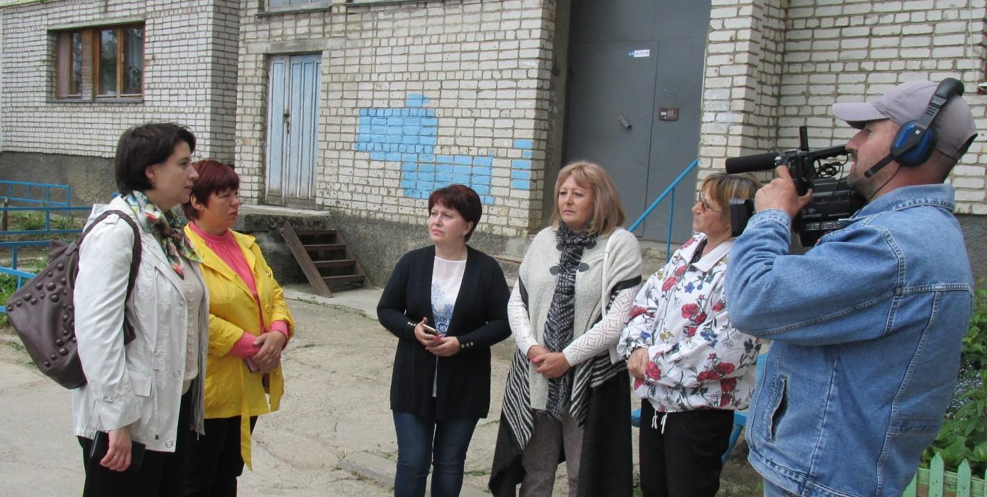 Выездное заседание постоянной комиссии Вяземского районного Совета депутатов по строительству, ЖКХ и транспорту