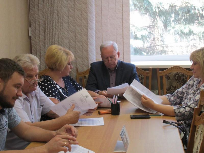 Заседание постоянной комиссии Вяземского районного Совета депутатов по социальной политике