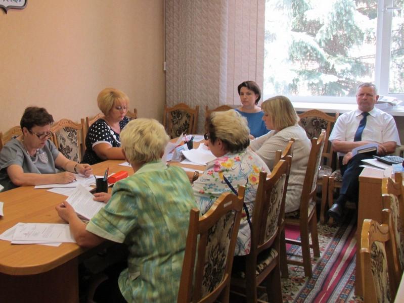 Заседание постоянной комиссии по бюджету и муниципальной собственности Вяземского районного Совета депутатов