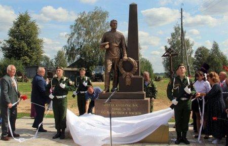 Открытие памятника Воину-Освободителю в Царево-Займище
