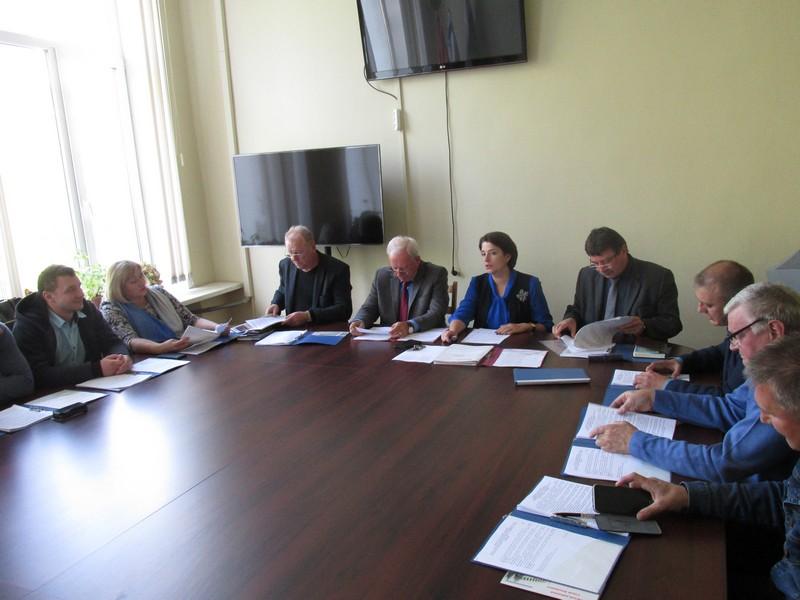 55-е заседание Вяземского районного Совета депутатов пятого созыва