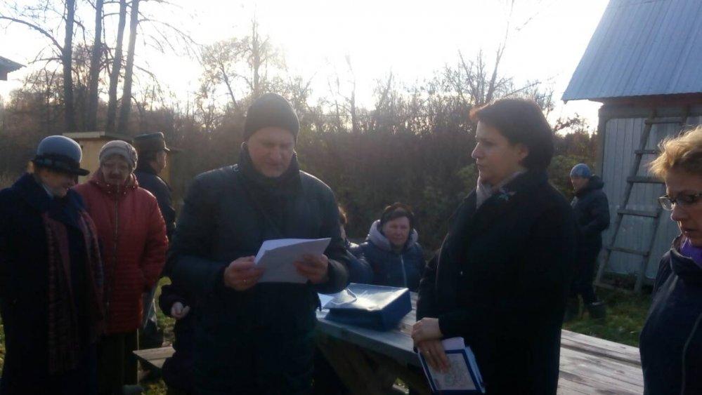 8 ноября 2017 года приём граждан депутатами района прошел в Тумановском сельском поселении.