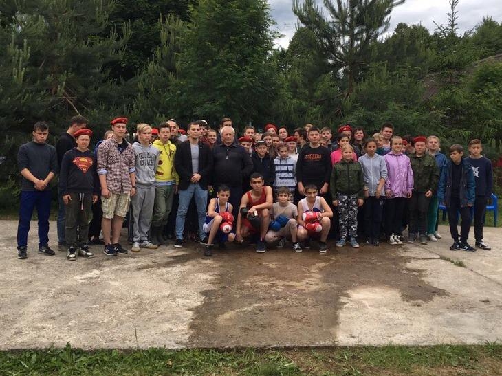 Встреча с В.Н. Краснобаем в Чепчугово