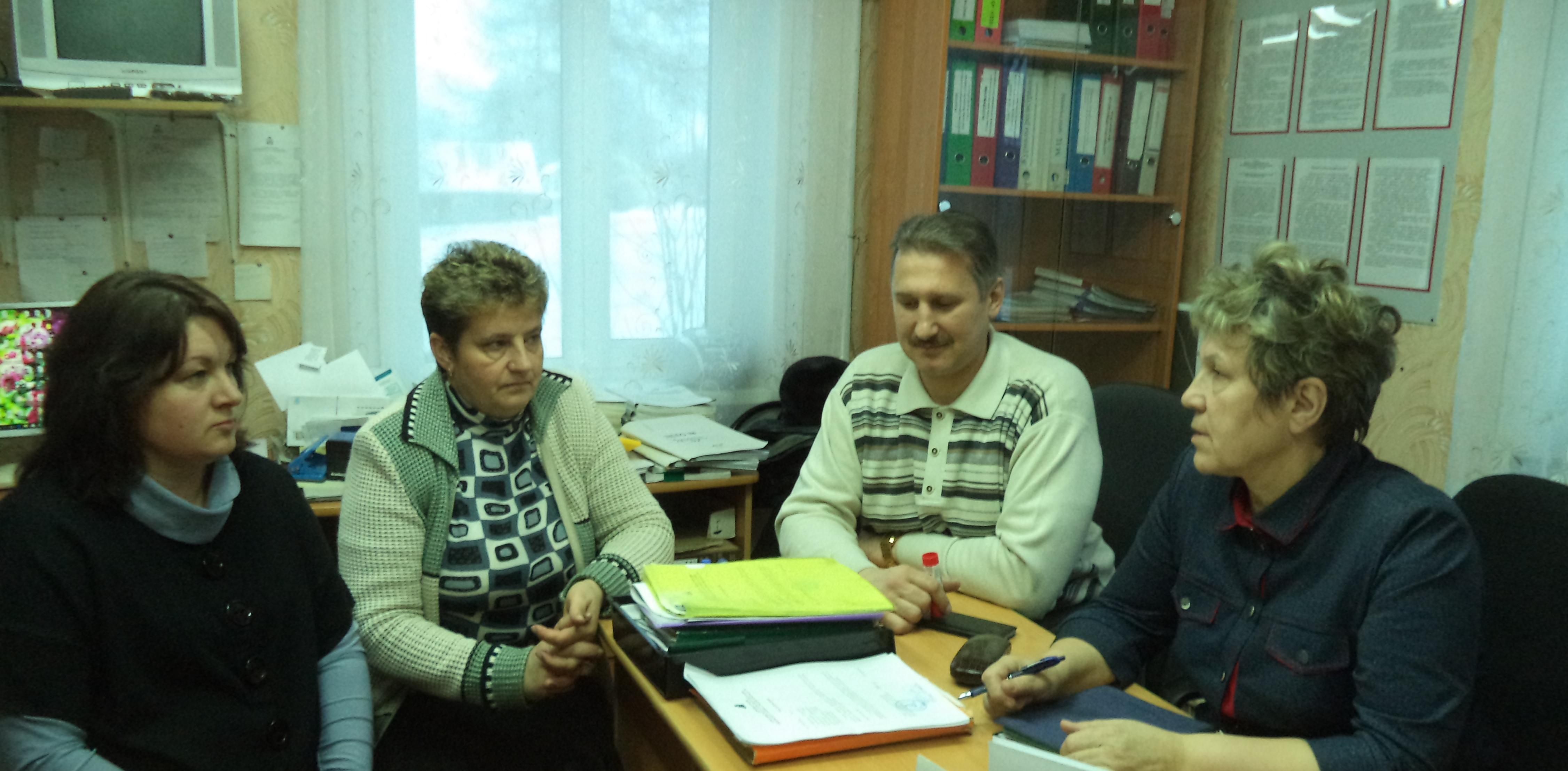 Встреча депутатов со своими избирателями