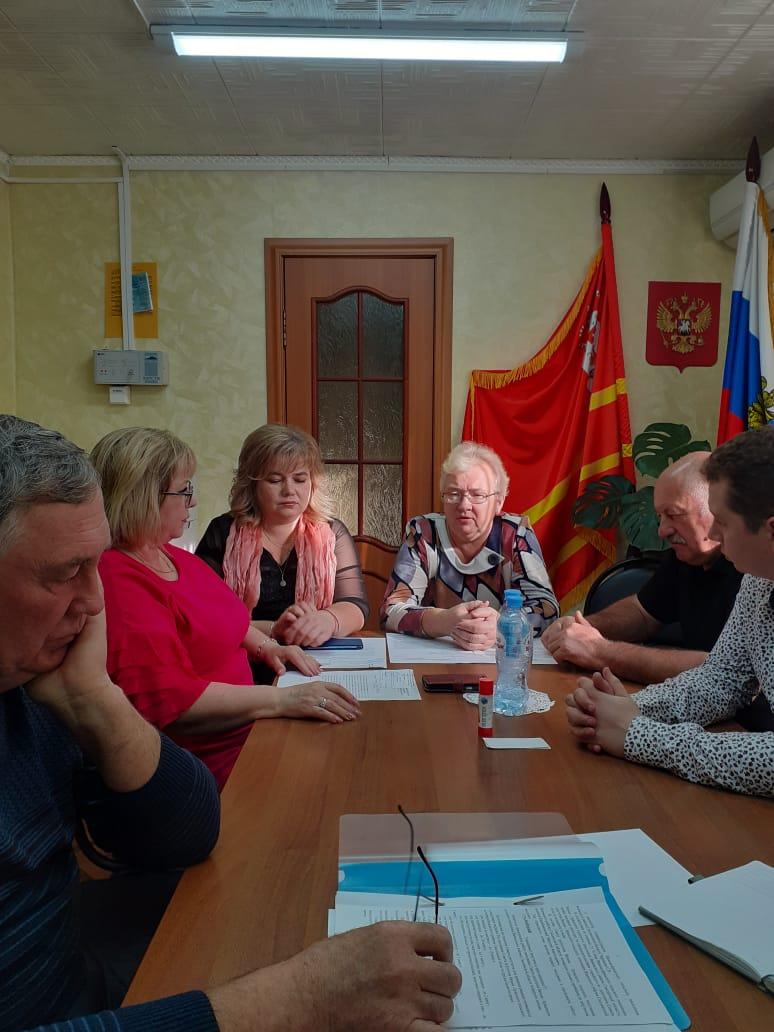 Организационное заседание Совета в Вязьма  -Брянском сельском поселений.
