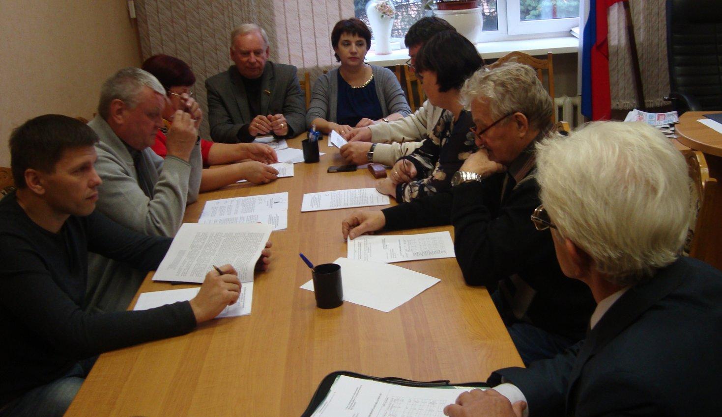 Совместное заседание постоянных комиссий