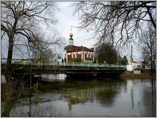 О ремонте моста на улице Смоленская