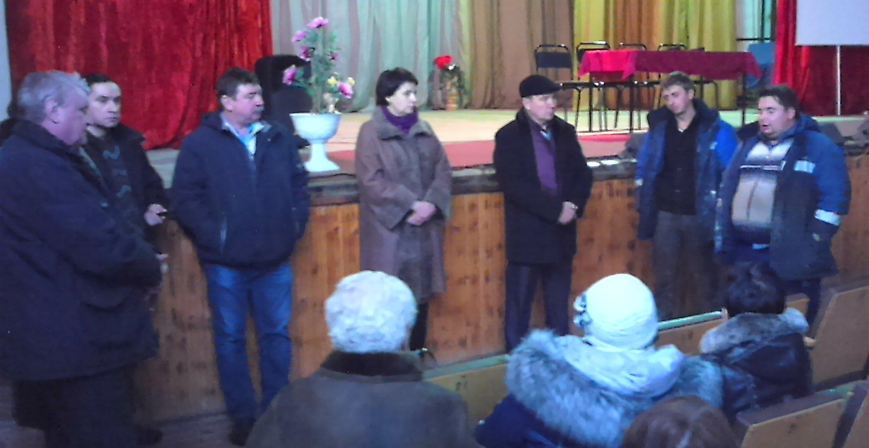 Выездное заседание постоянной комиссии по строительству, ЖКХ и транспорту в Кайдаково