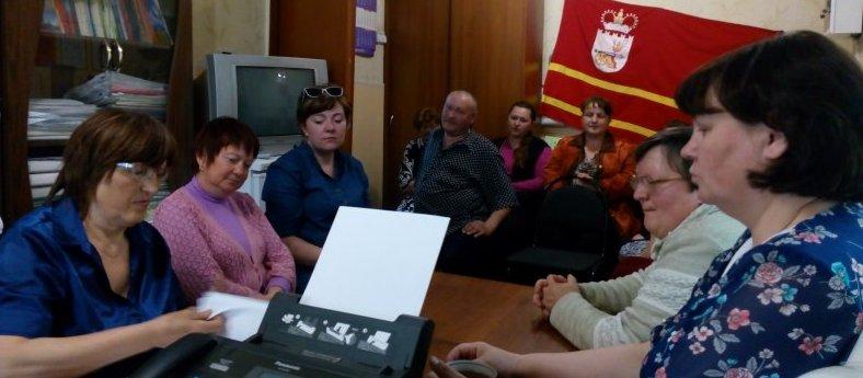 Совместная работа с депутатами сельских поселений