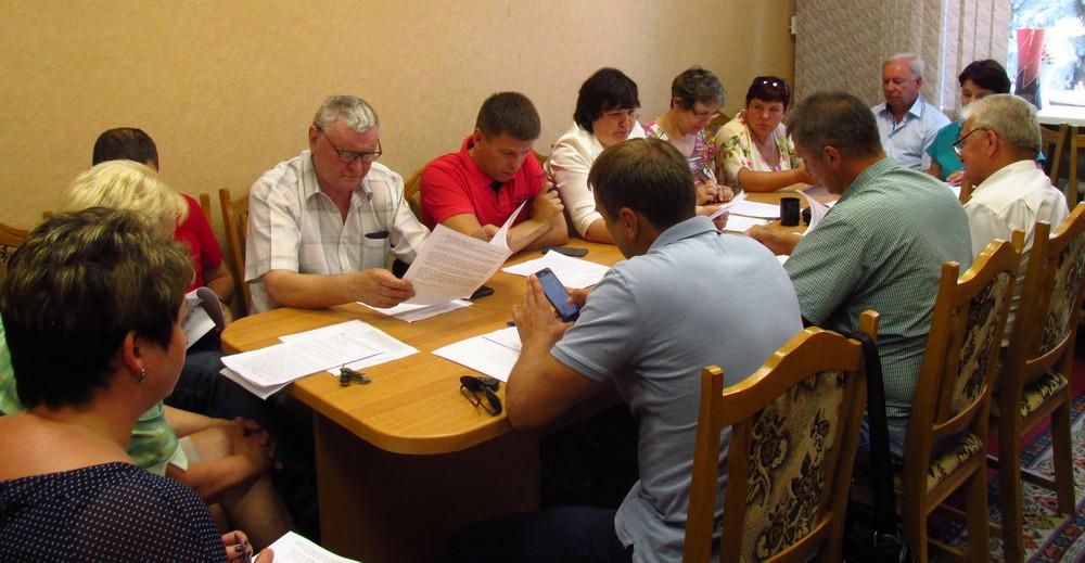 40-е внеочередное заседание Вяземского районного Совета депутатов