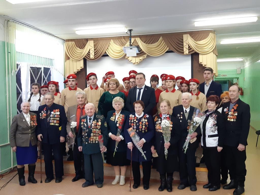 28 января 2020  года в МБОУ СОШ №10 прошло районное мероприятие, посвященное 76-летию  снятия блокады Ленинграда.