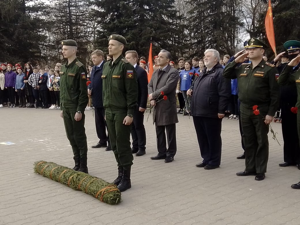 В Вязьме прошли мероприятия, посвященные 79-й годовщине подвига 33-й армии