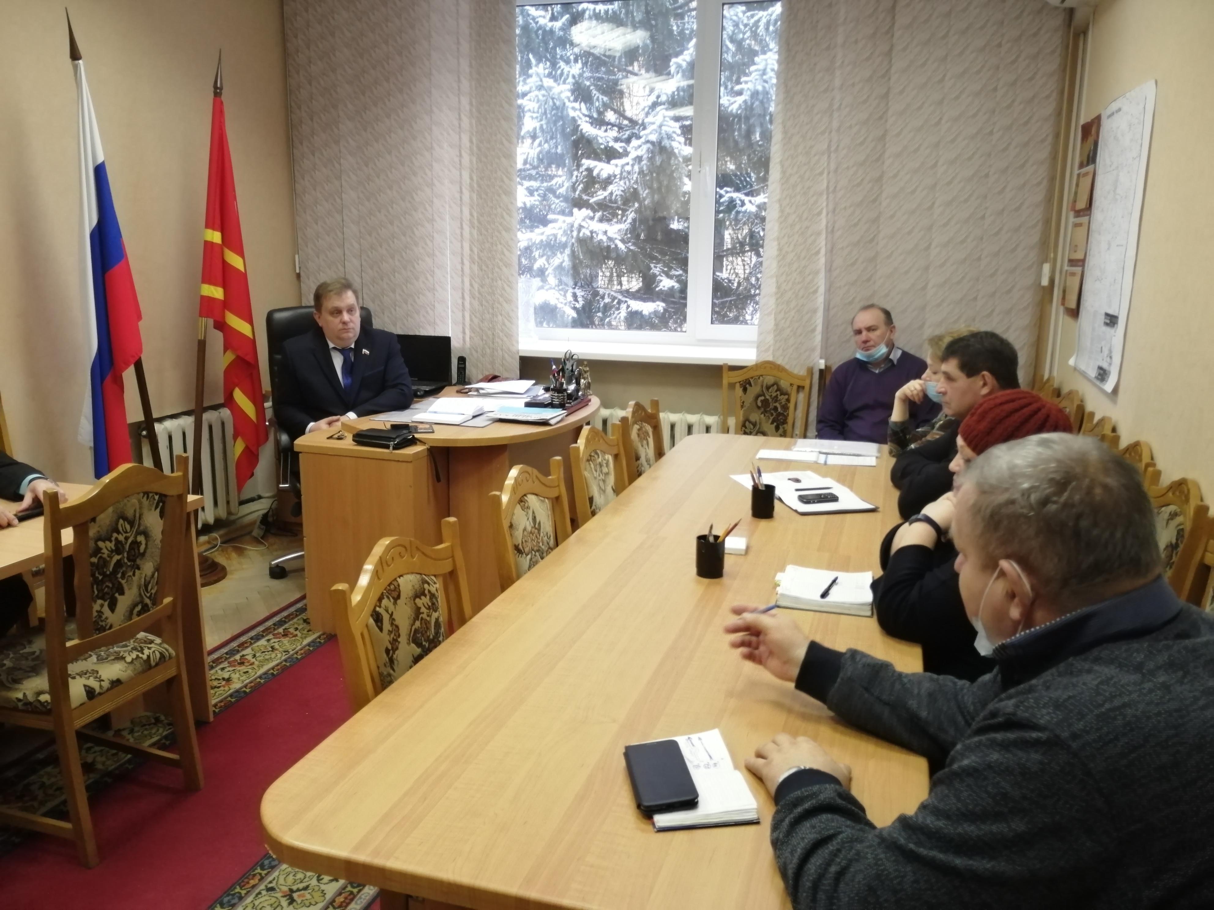 Совещание с Главами сельских поселений по вопросу водоснабжения.